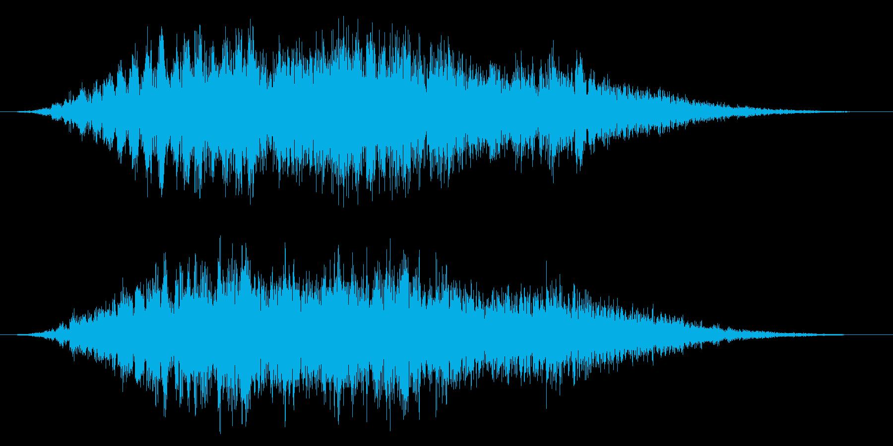 ホラー系/おばけ/不気味の再生済みの波形