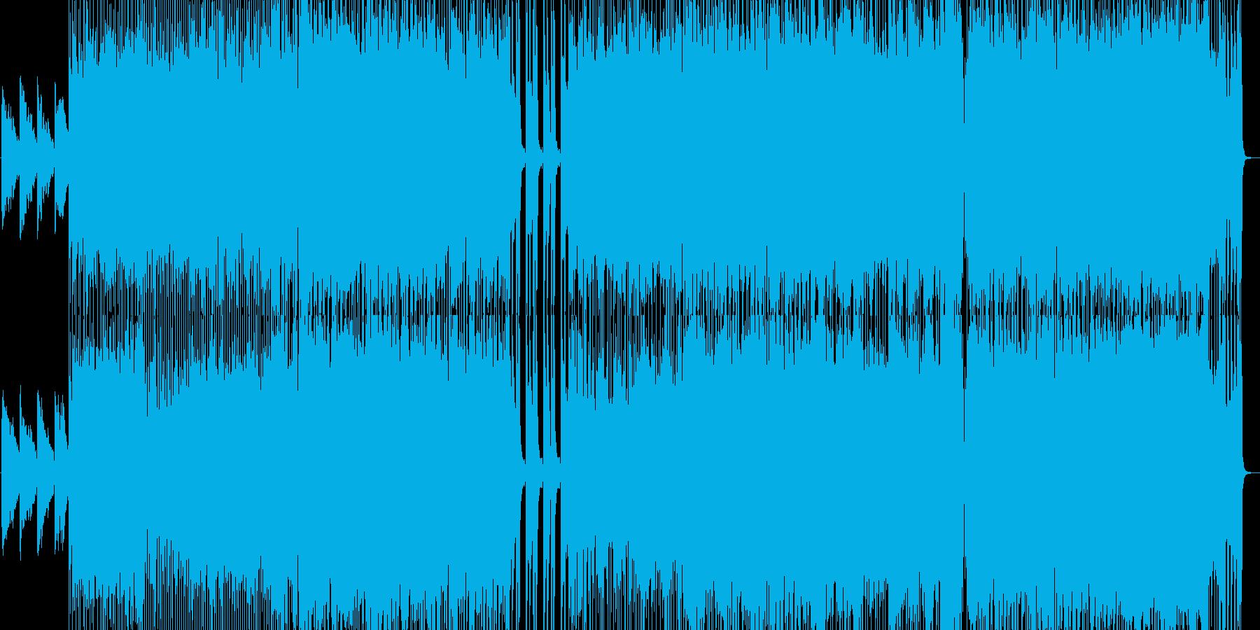 キュンと切ないガールズポップロックの再生済みの波形