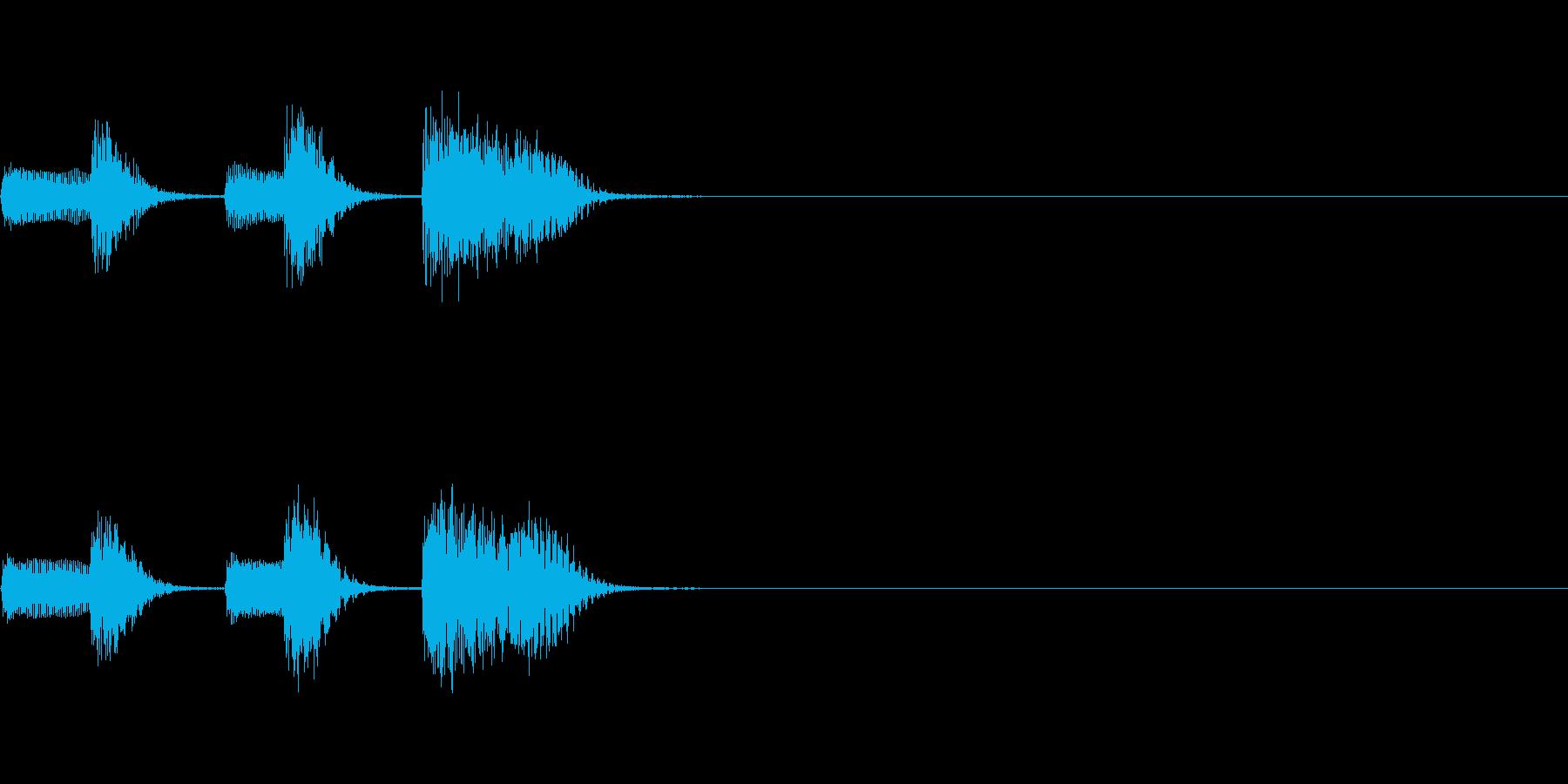 やさしいピアノ・サウンドロゴ4の再生済みの波形