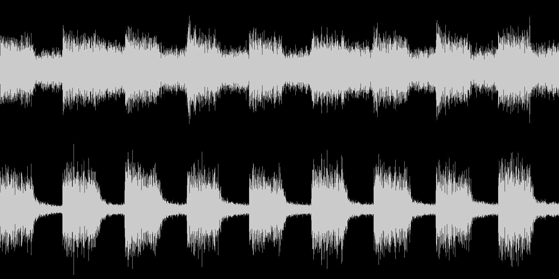 警告音・アラーム・機械(ループ)の未再生の波形