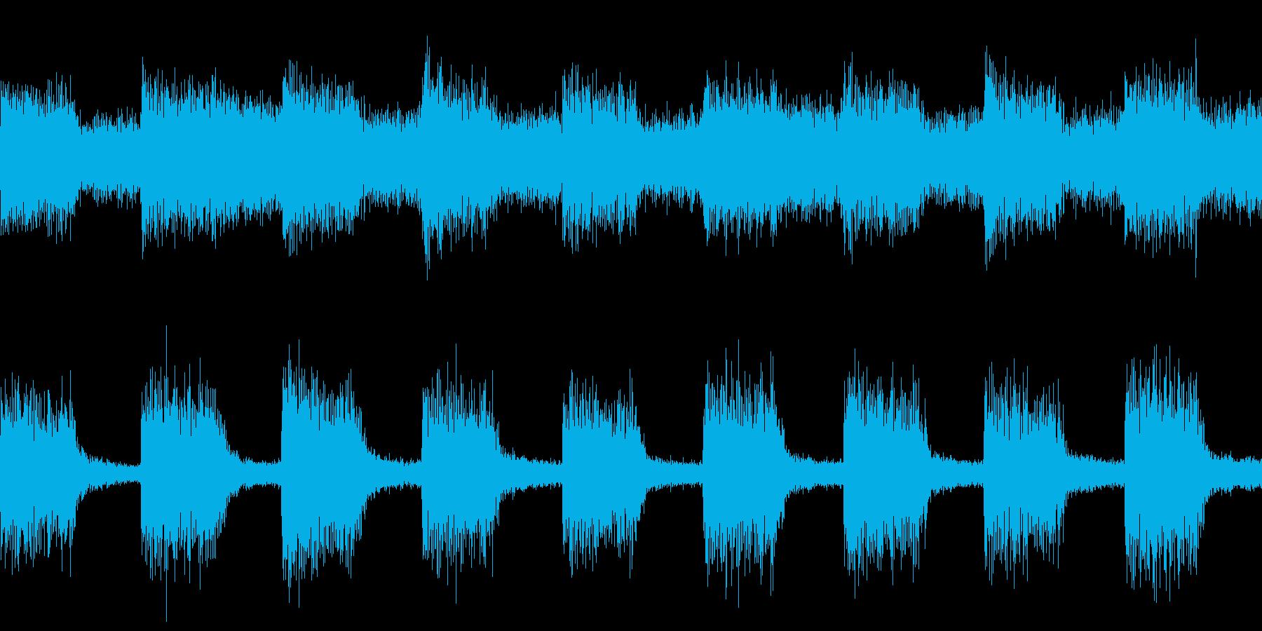 警告音・アラーム・機械(ループ)の再生済みの波形