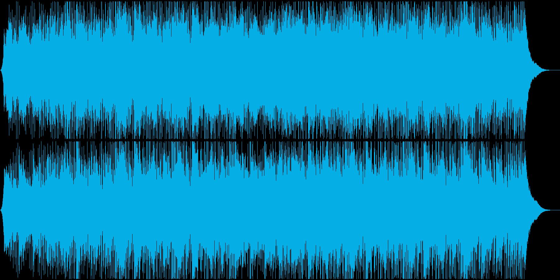 企業VPや映像に ポジティブギターポップの再生済みの波形