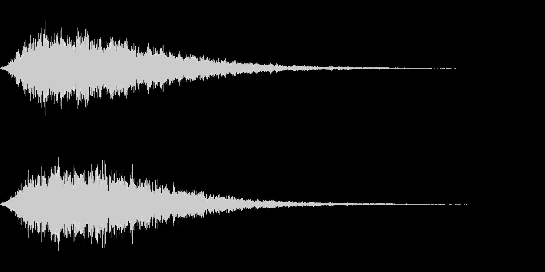 シュワーン(神聖なシンセパッド)の未再生の波形