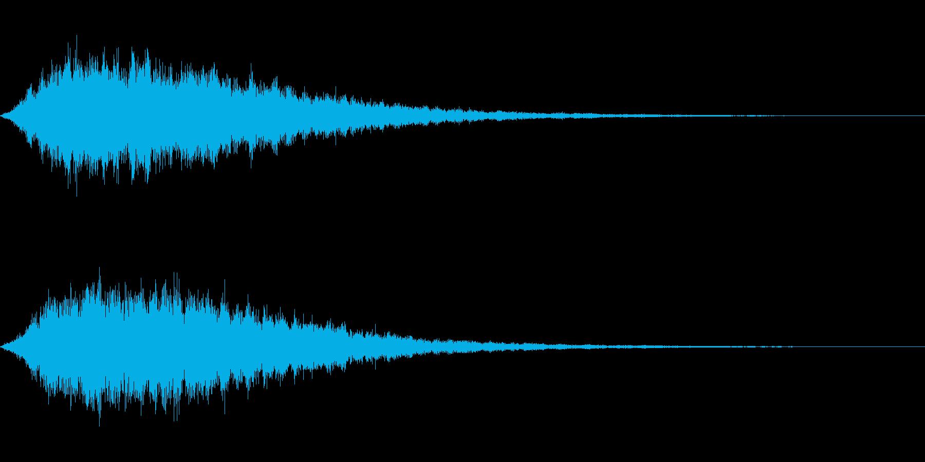 シュワーン(神聖なシンセパッド)の再生済みの波形