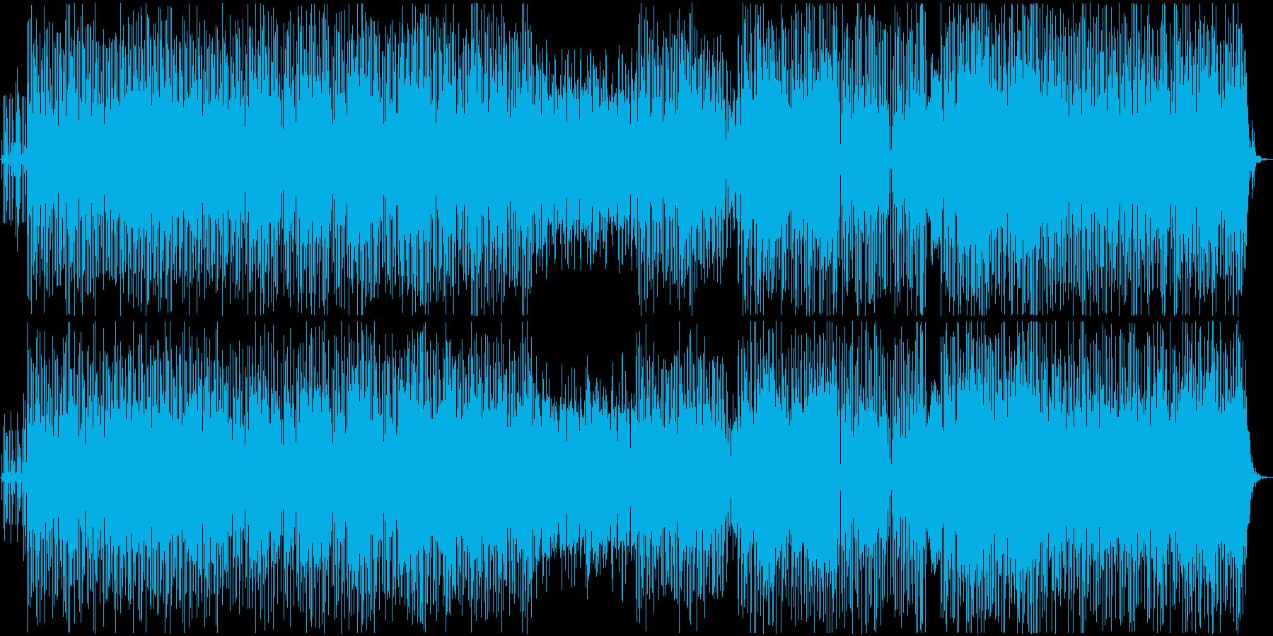 ストーリー性のある映像のBGMに合う曲の再生済みの波形