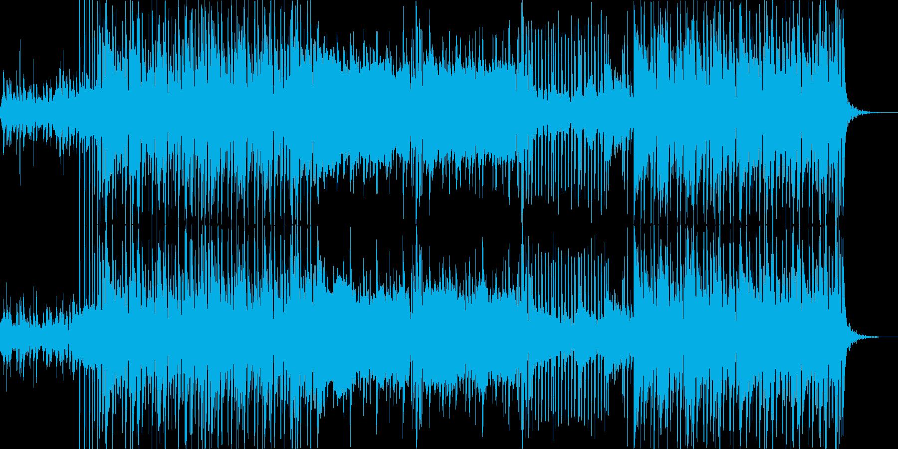 Hip Hop INST BGMの再生済みの波形