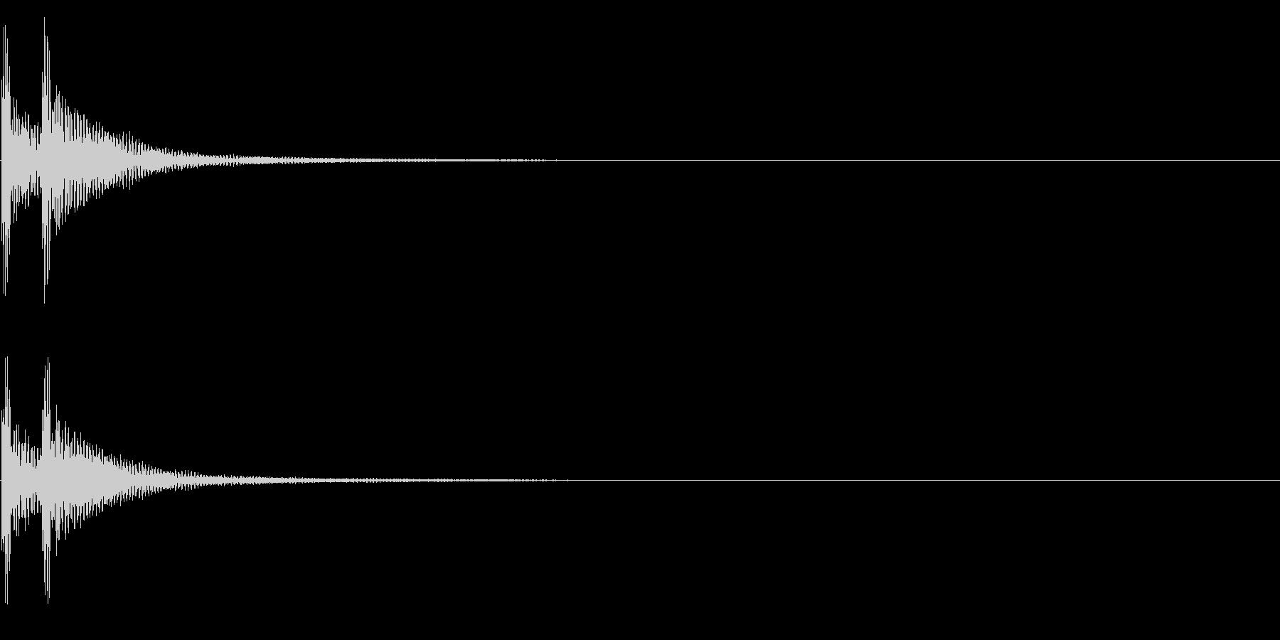 ティンパニー☆ドドン!3の未再生の波形