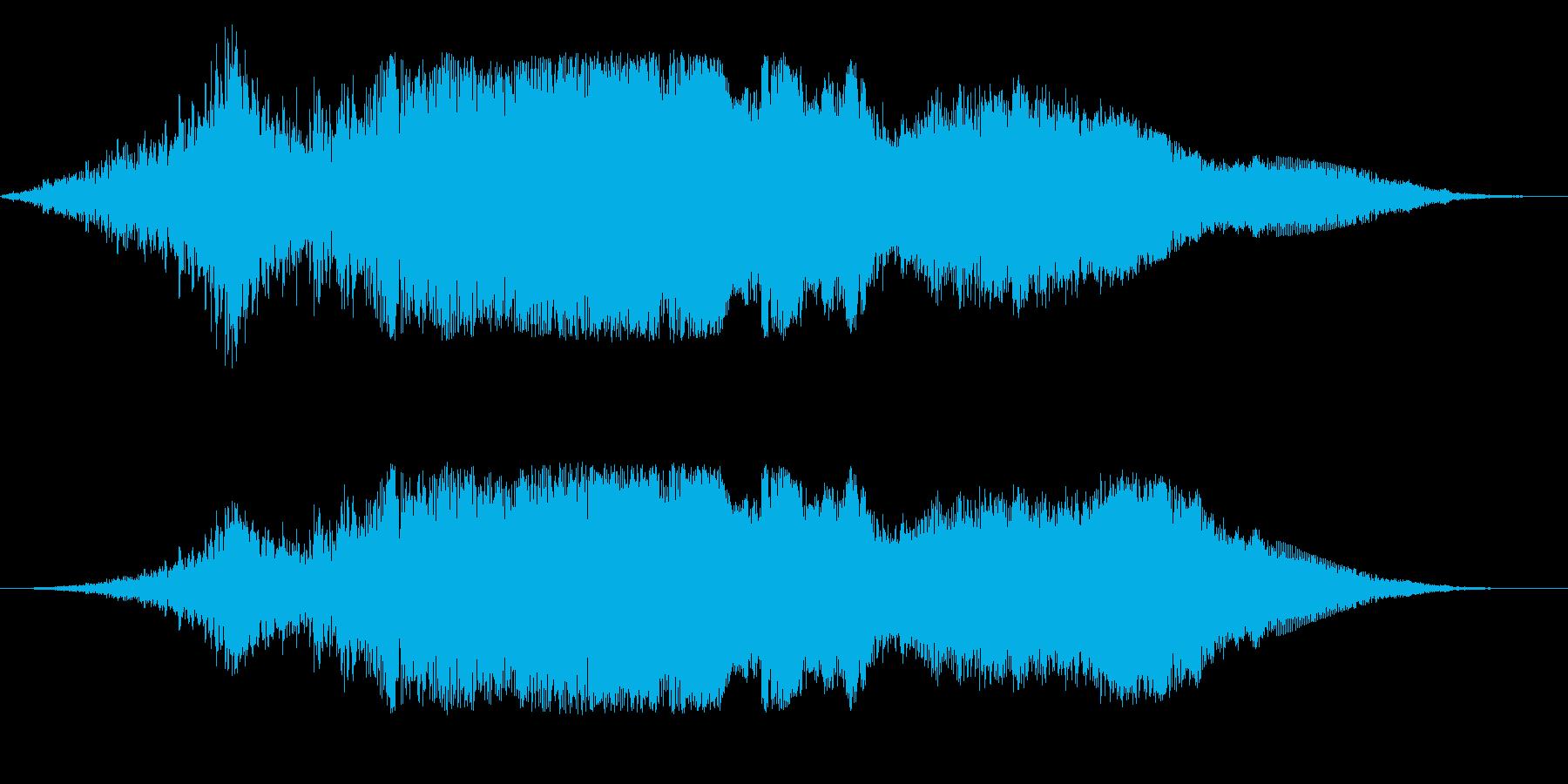 F1などのレース、エンジン音に最適32!の再生済みの波形