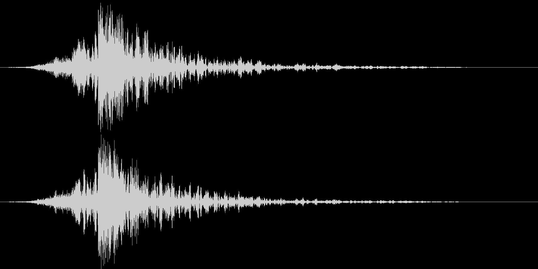 映画に合う効果音11の未再生の波形
