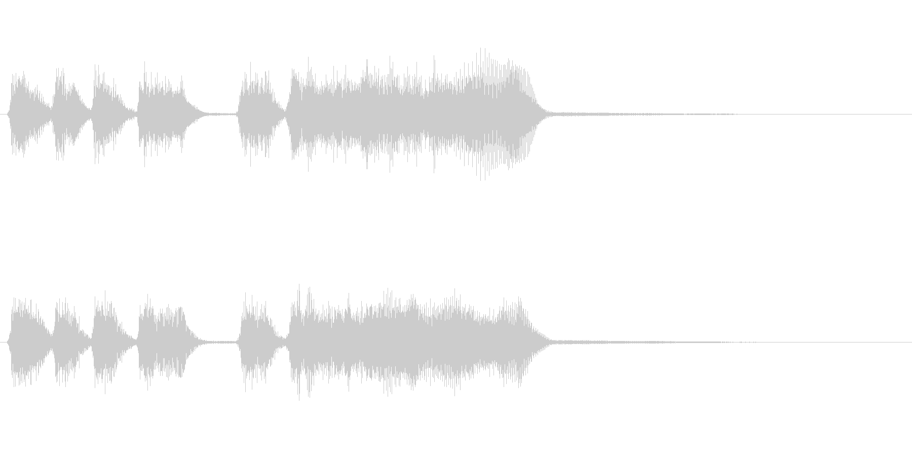 玩具系ファンファーレ-08の未再生の波形