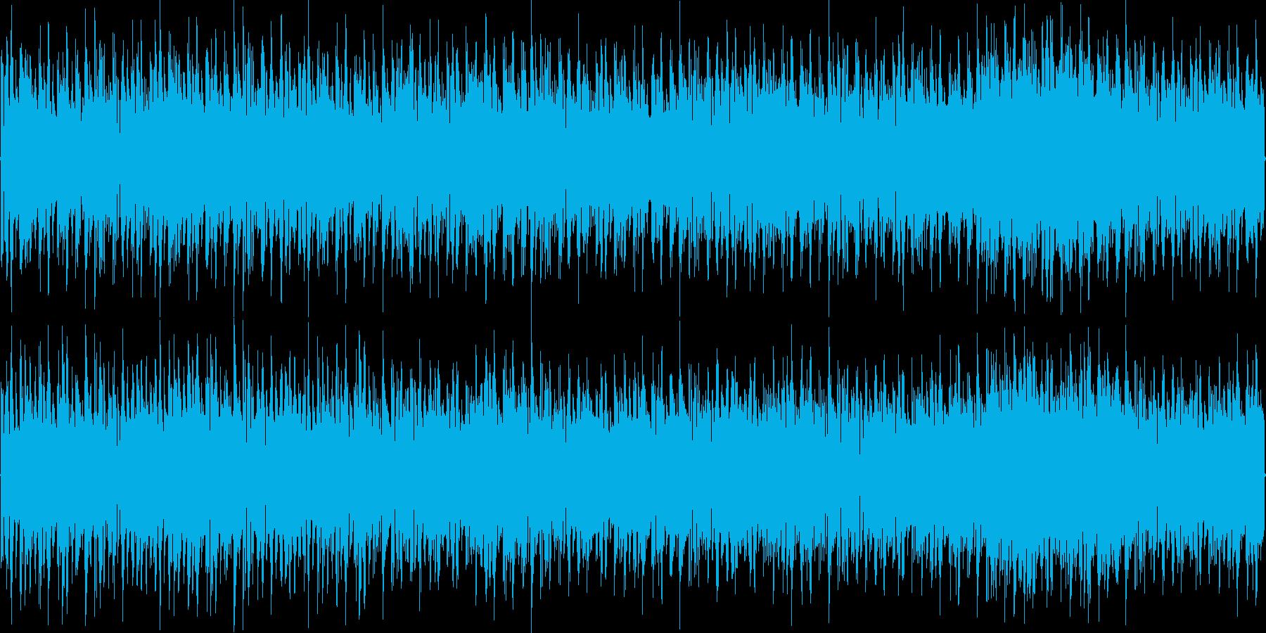 ハイパワートランスの再生済みの波形