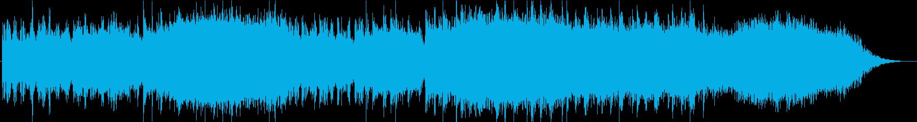 昭和/ホラーの再生済みの波形