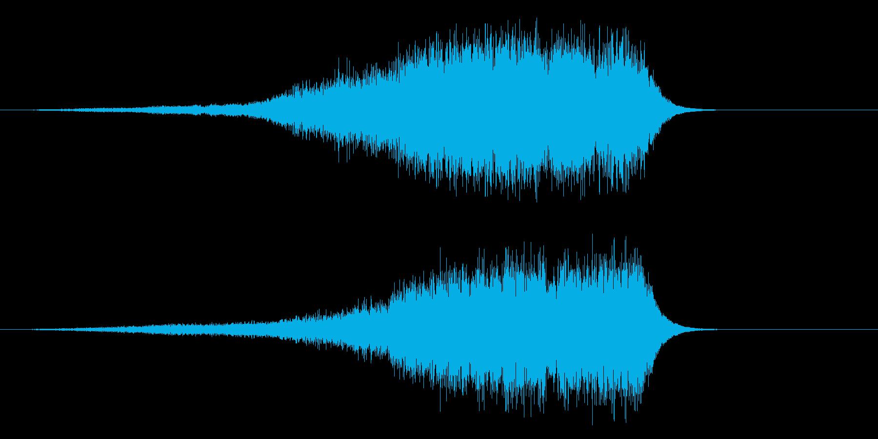 シャーーーー  剣を鞘からゆっくり抜く…の再生済みの波形