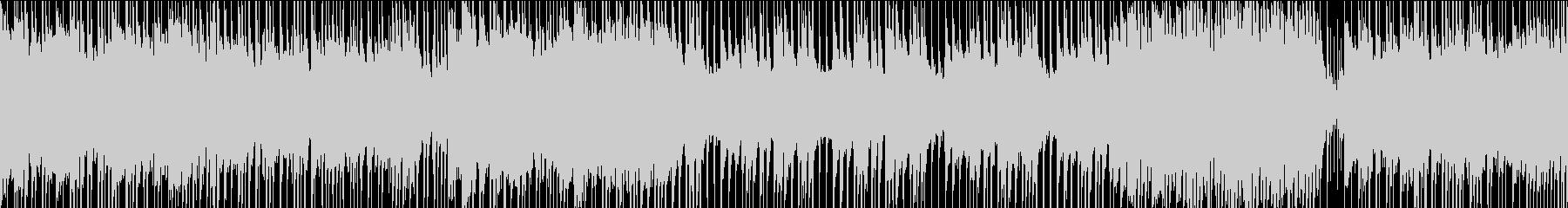 ロック/激しい/重い/疾走感/ループの未再生の波形