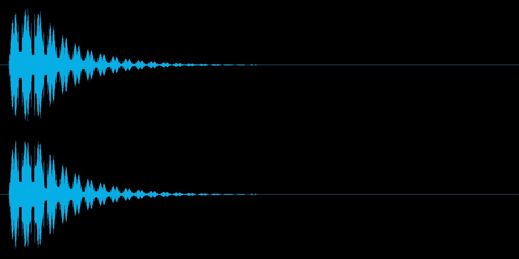 消える、ワープ等の再生済みの波形