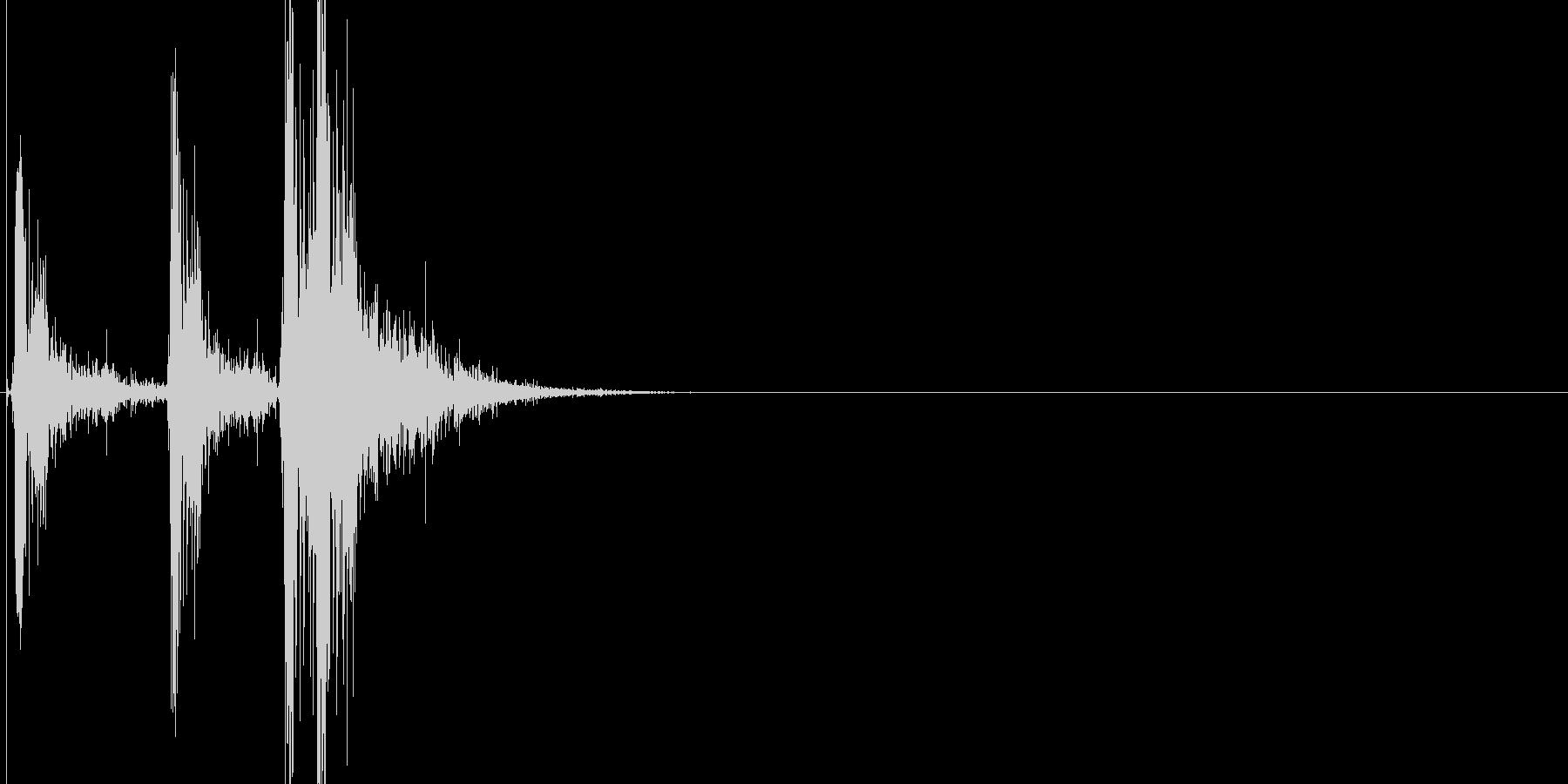 火花/スパーク音(バチバチッ)の未再生の波形
