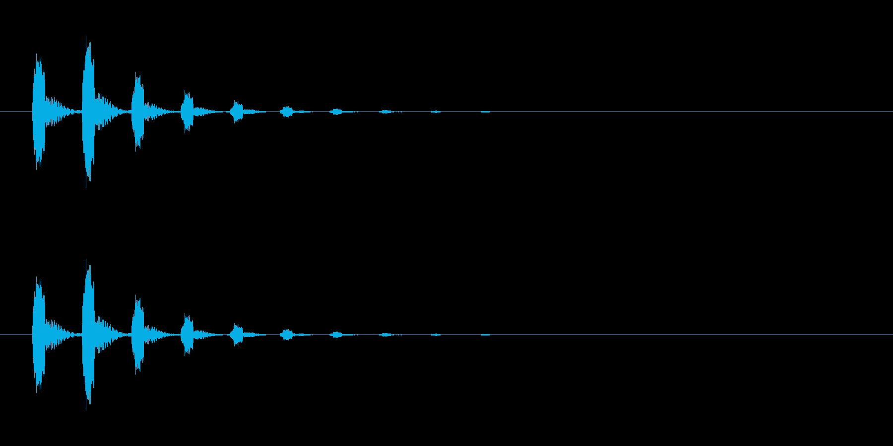 【びっくり04-1】の再生済みの波形