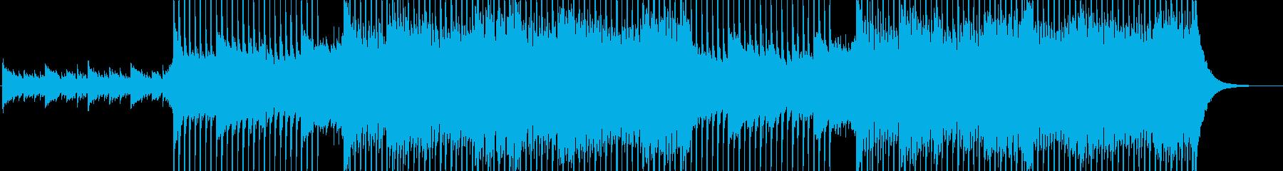 企業VP向け、爽やかポップ4つ打ち13aの再生済みの波形