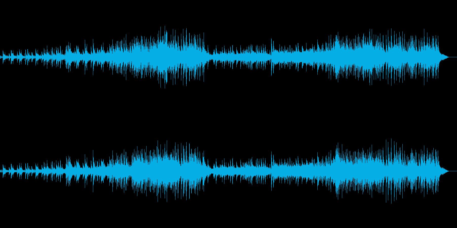じっくり聴かせる洋楽風スロー・バラードの再生済みの波形