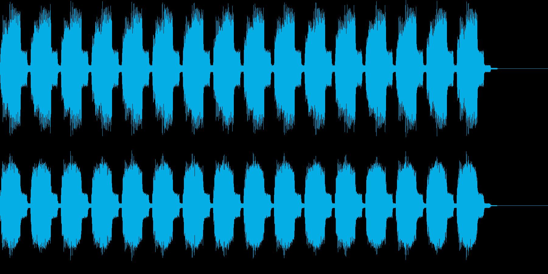 ビーッビーッ 警告音・サイレン2の再生済みの波形