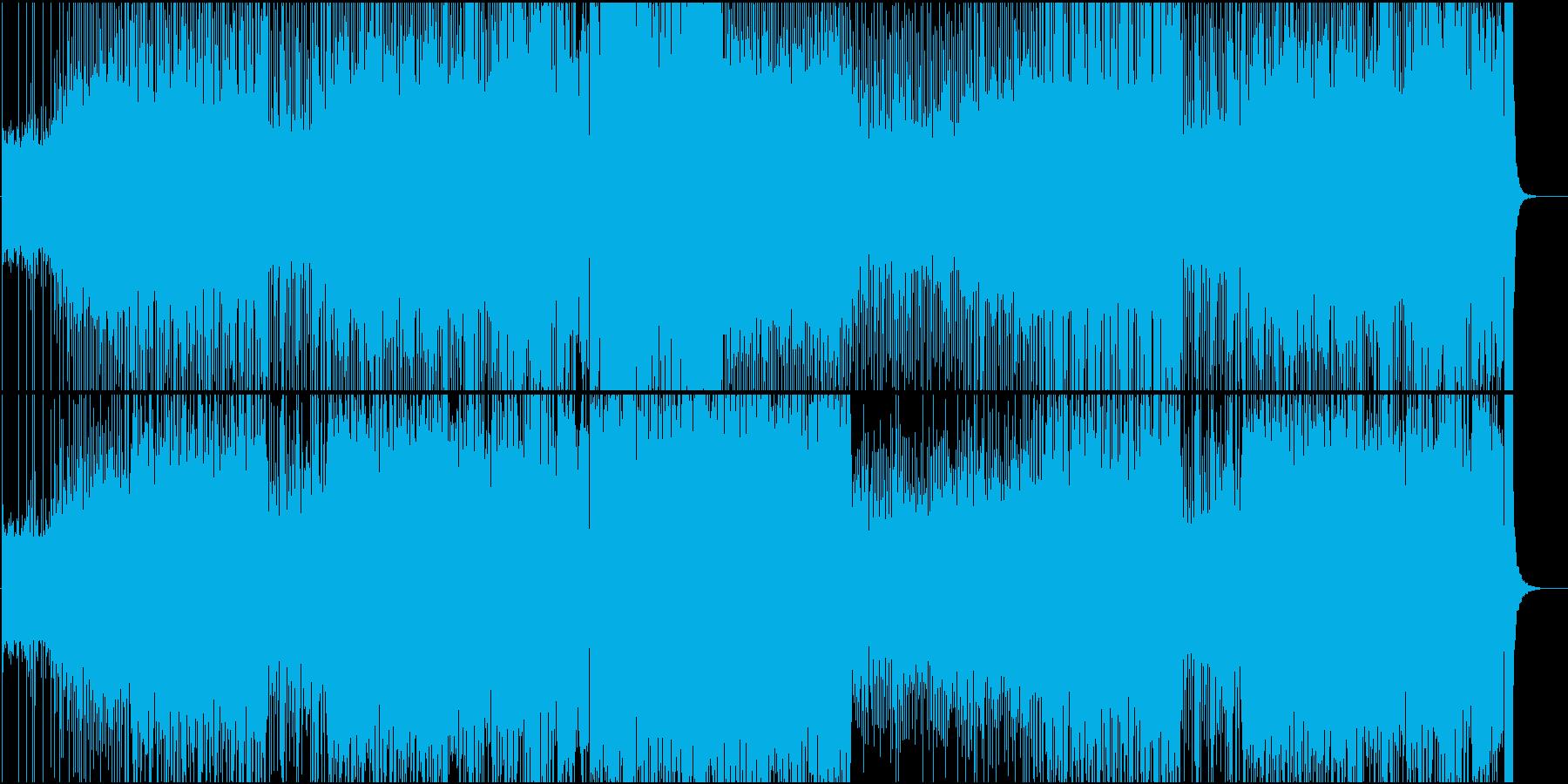 ファンキーなブラスセクションによるアッ…の再生済みの波形