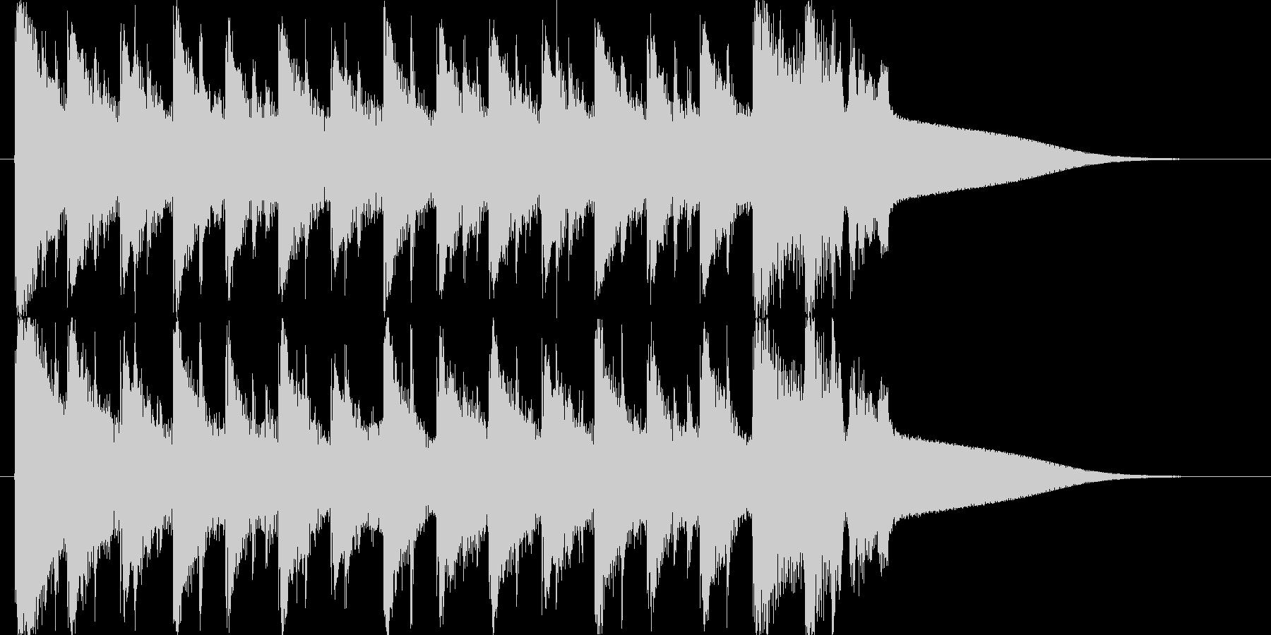 EDMの10秒ジングルですの未再生の波形