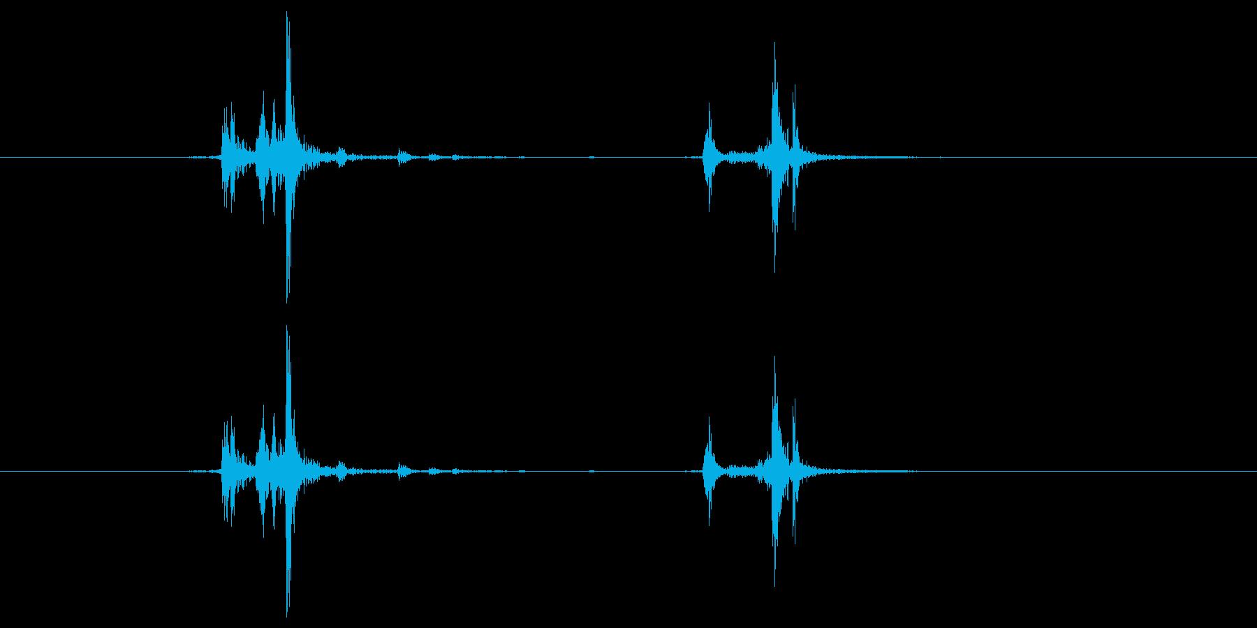 チャキの再生済みの波形