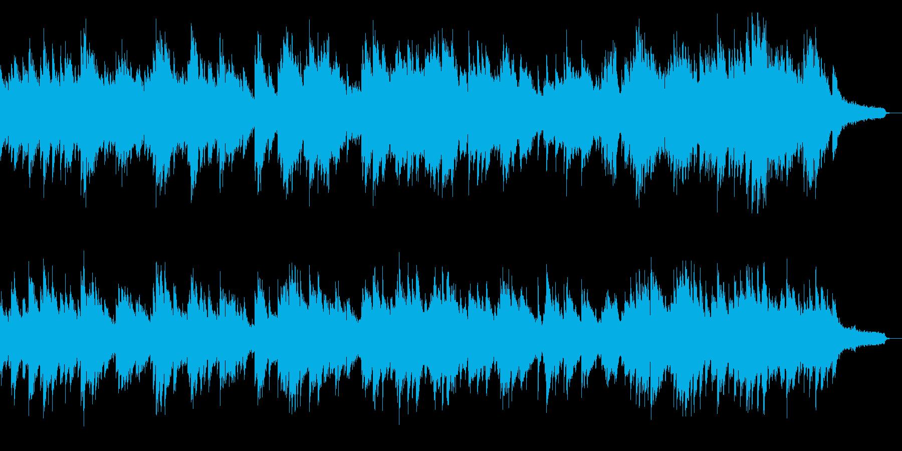 スローで切ない美旋律ピアノソロの再生済みの波形