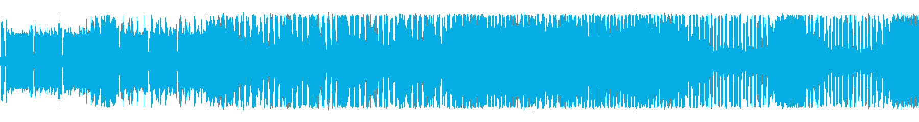 スタイリッシュなチップチューンサウンドの再生済みの波形