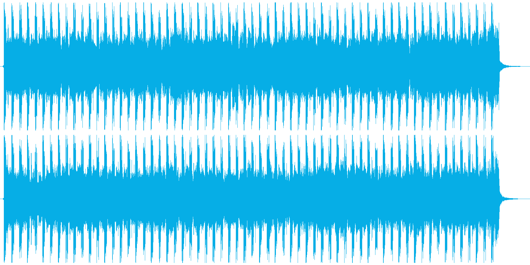 企業VP向け、爽やかポップ4つ打ち3-2の再生済みの波形