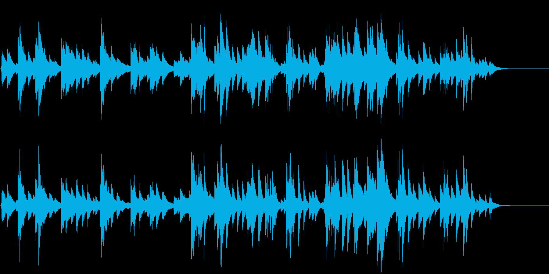 ピアノソロ  ムード 上品  ゆったりの再生済みの波形