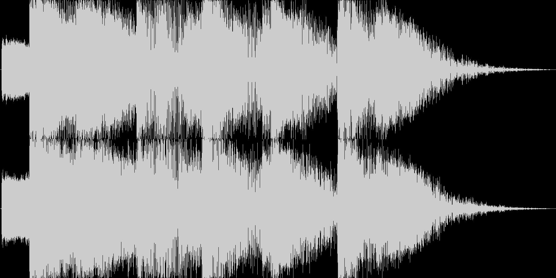 【SE】爆発音04(超爆発)の未再生の波形