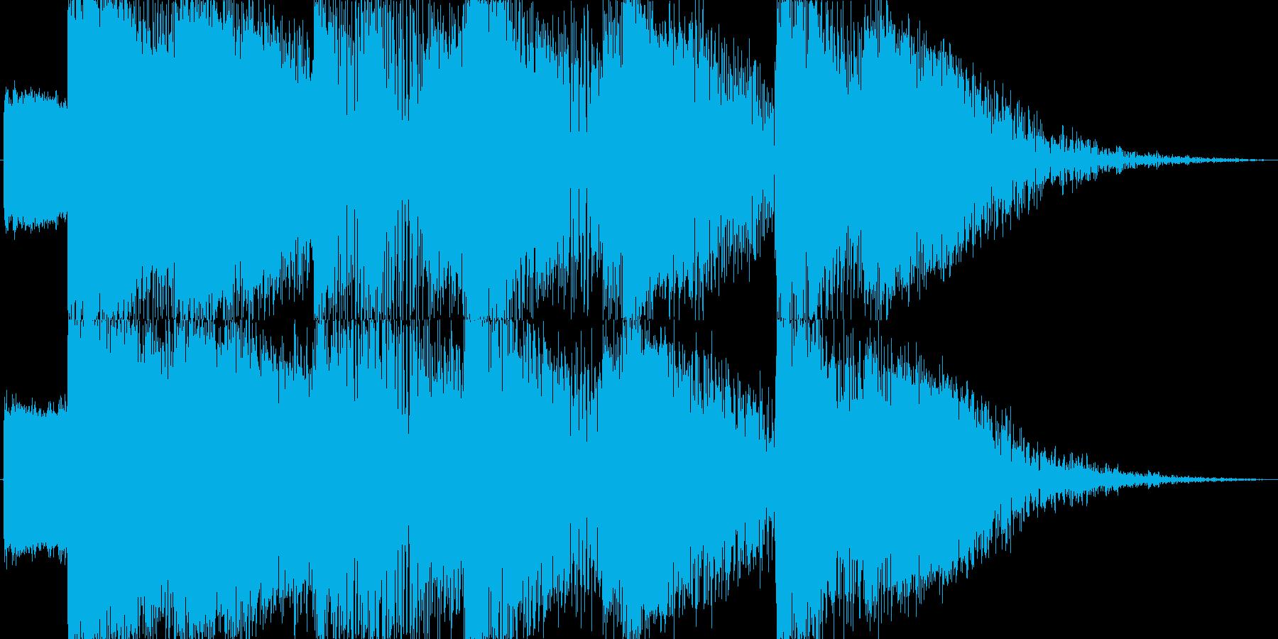 【SE】爆発音04(超爆発)の再生済みの波形