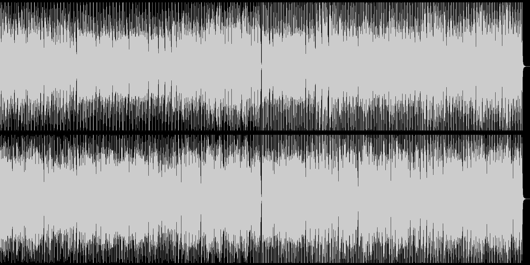 第九ベートーベン歓喜の歌かわいいウクレレの未再生の波形