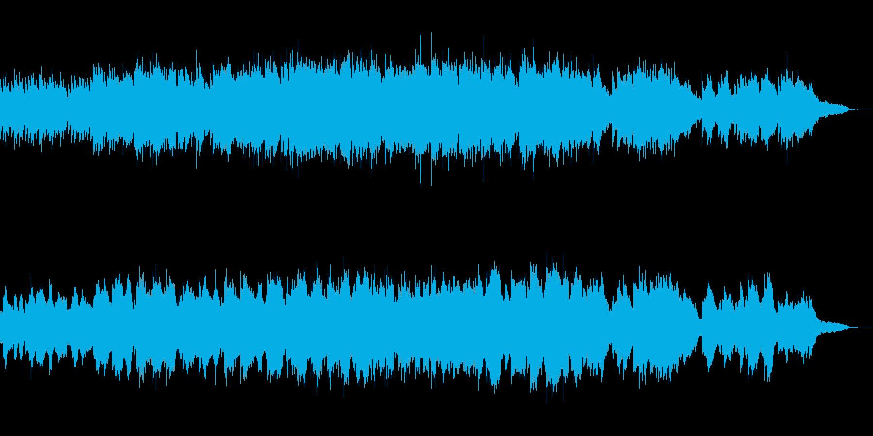 エレピとストリングスのバラードの再生済みの波形