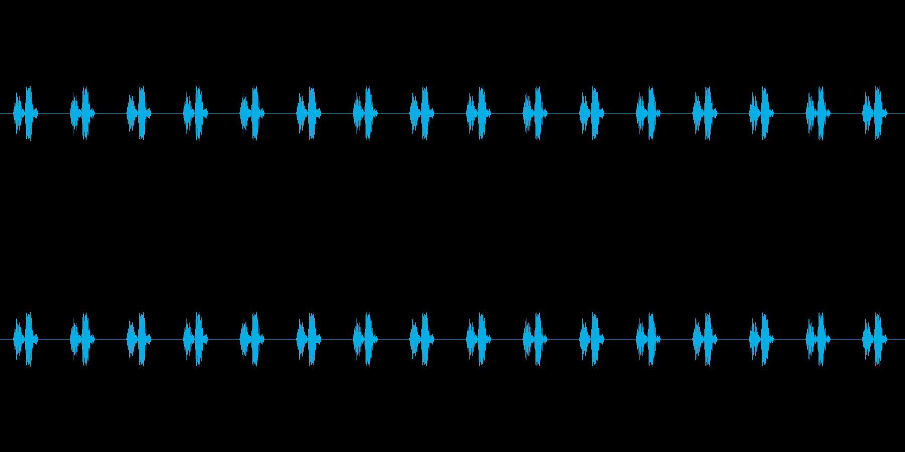 【慌てる05-4】の再生済みの波形