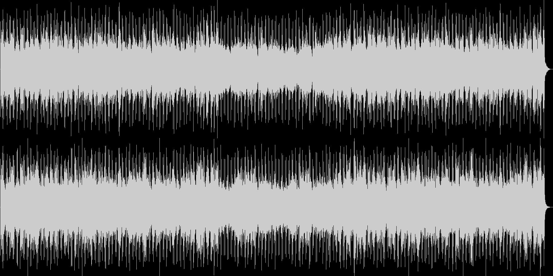不思議な印象のSF系シーンの未再生の波形