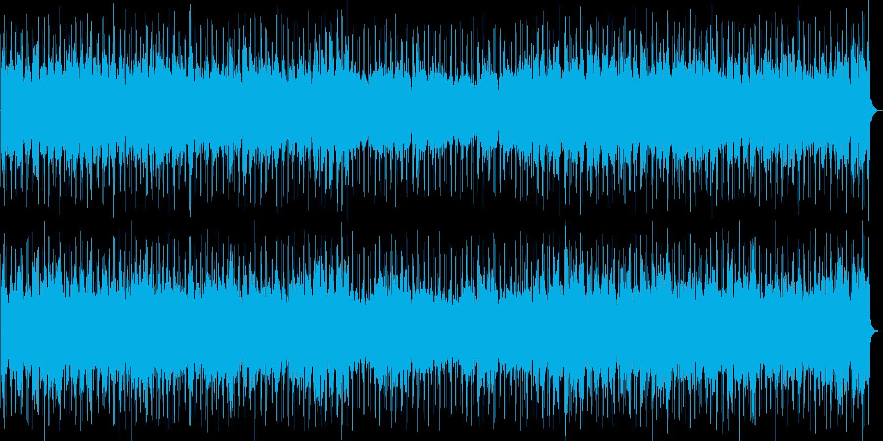 不思議な印象のSF系シーンの再生済みの波形