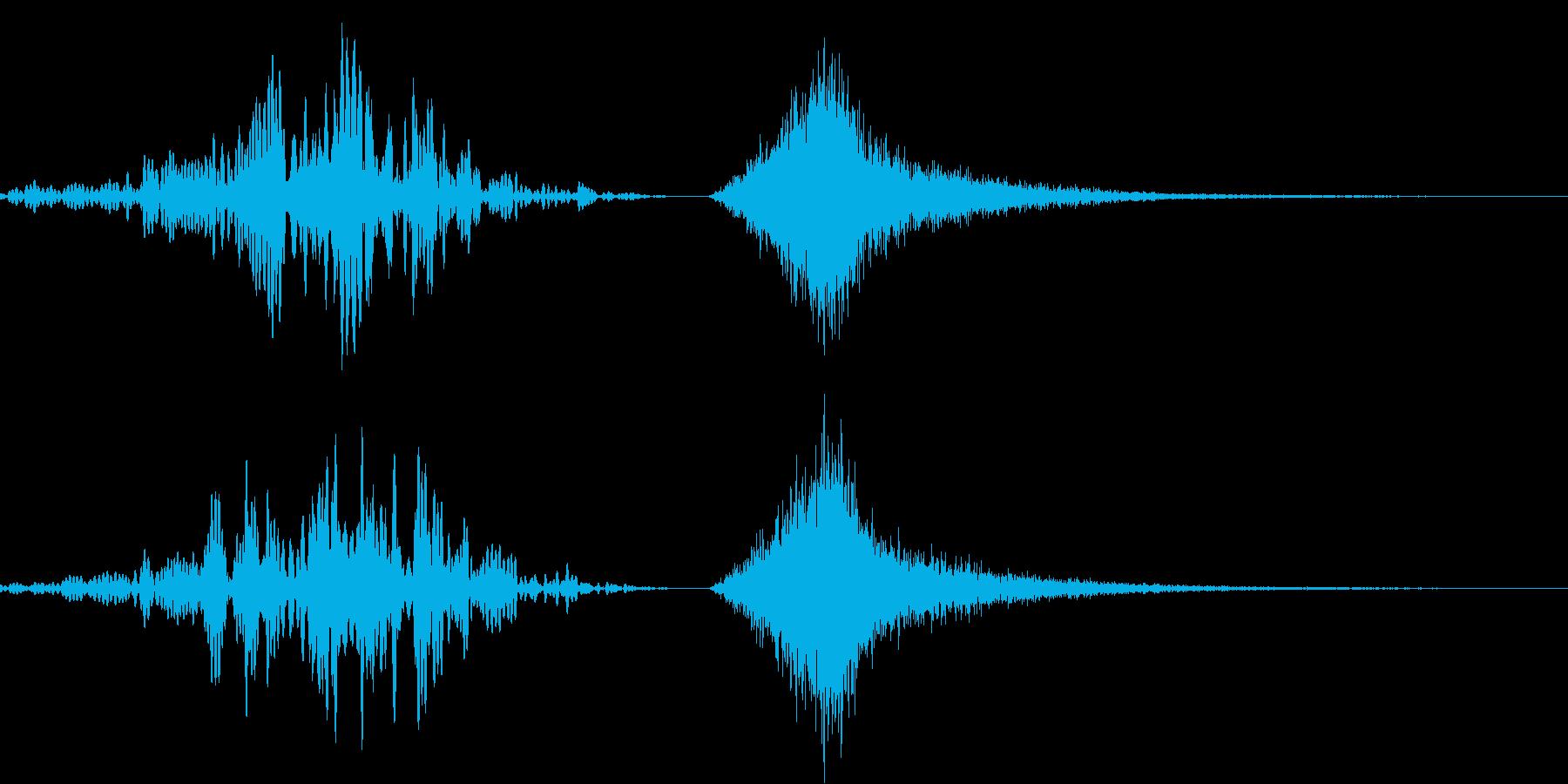 188_リバース2連2の再生済みの波形