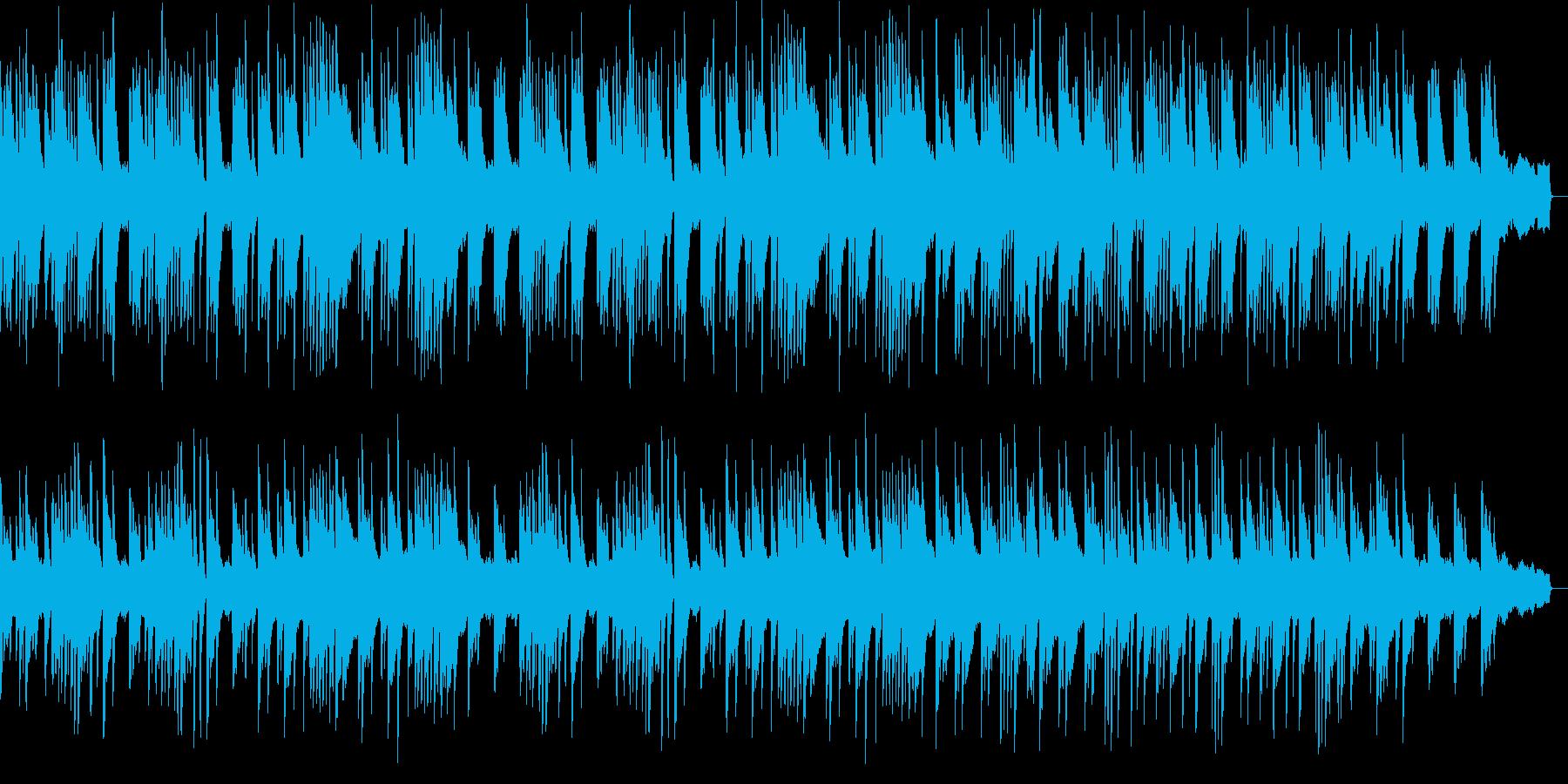 ゆったりとした旋律のピアノバラードの再生済みの波形