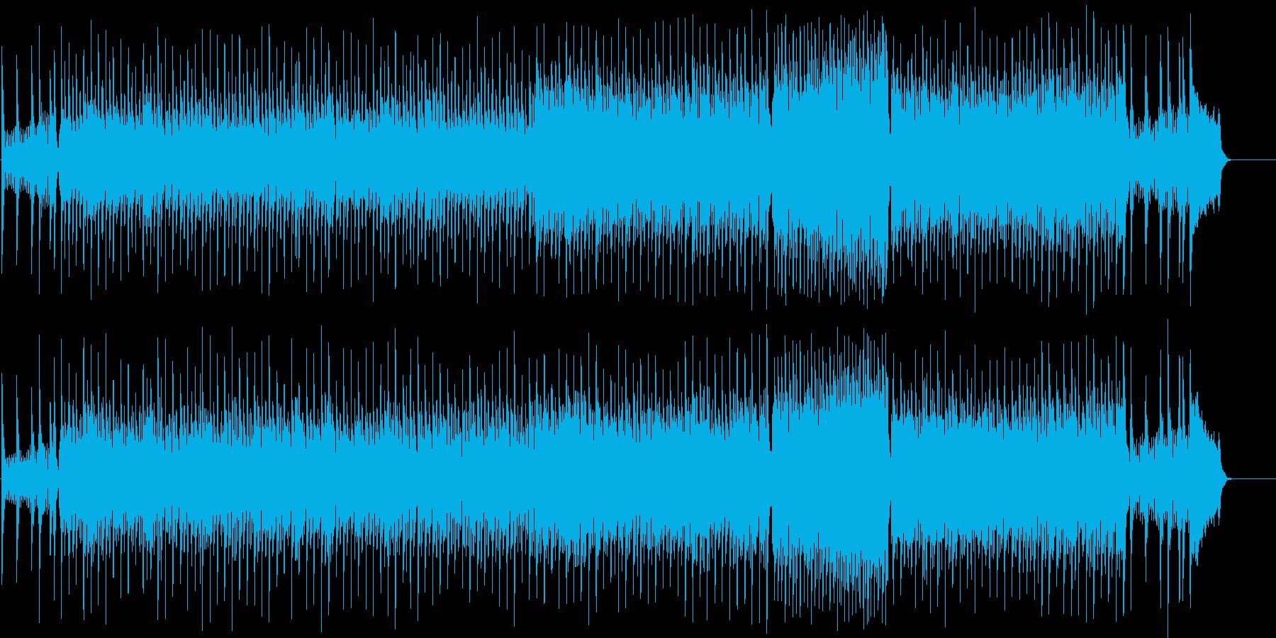 ヨーロピアン・タイプのコミカルなポップスの再生済みの波形