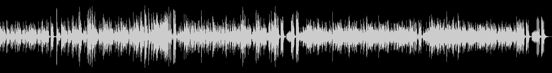 南国のリゾート地をイメージしたボサノバ曲の未再生の波形