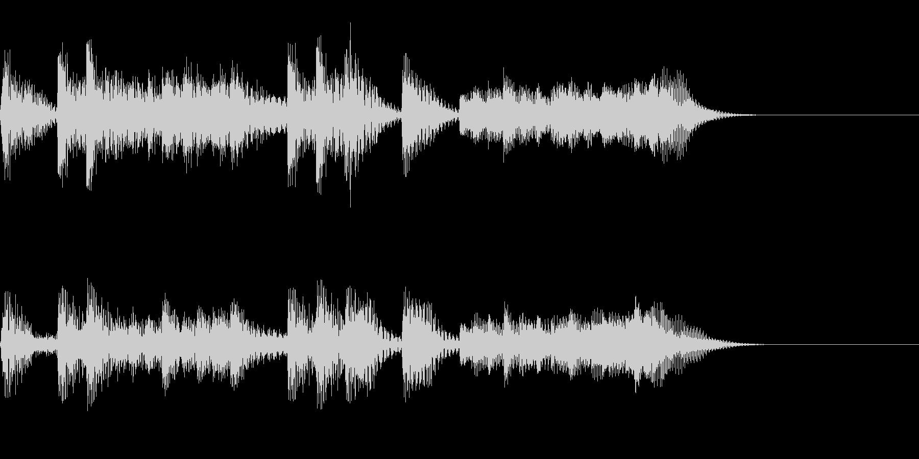 パンパカパン~マリンバのファンファーレ~の未再生の波形