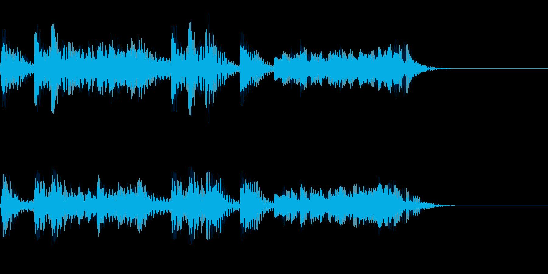 パンパカパン~マリンバのファンファーレ~の再生済みの波形