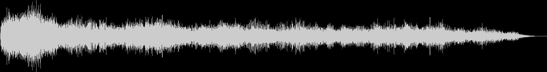 ホラー映画に出てきそうなノイズ系音源06の未再生の波形