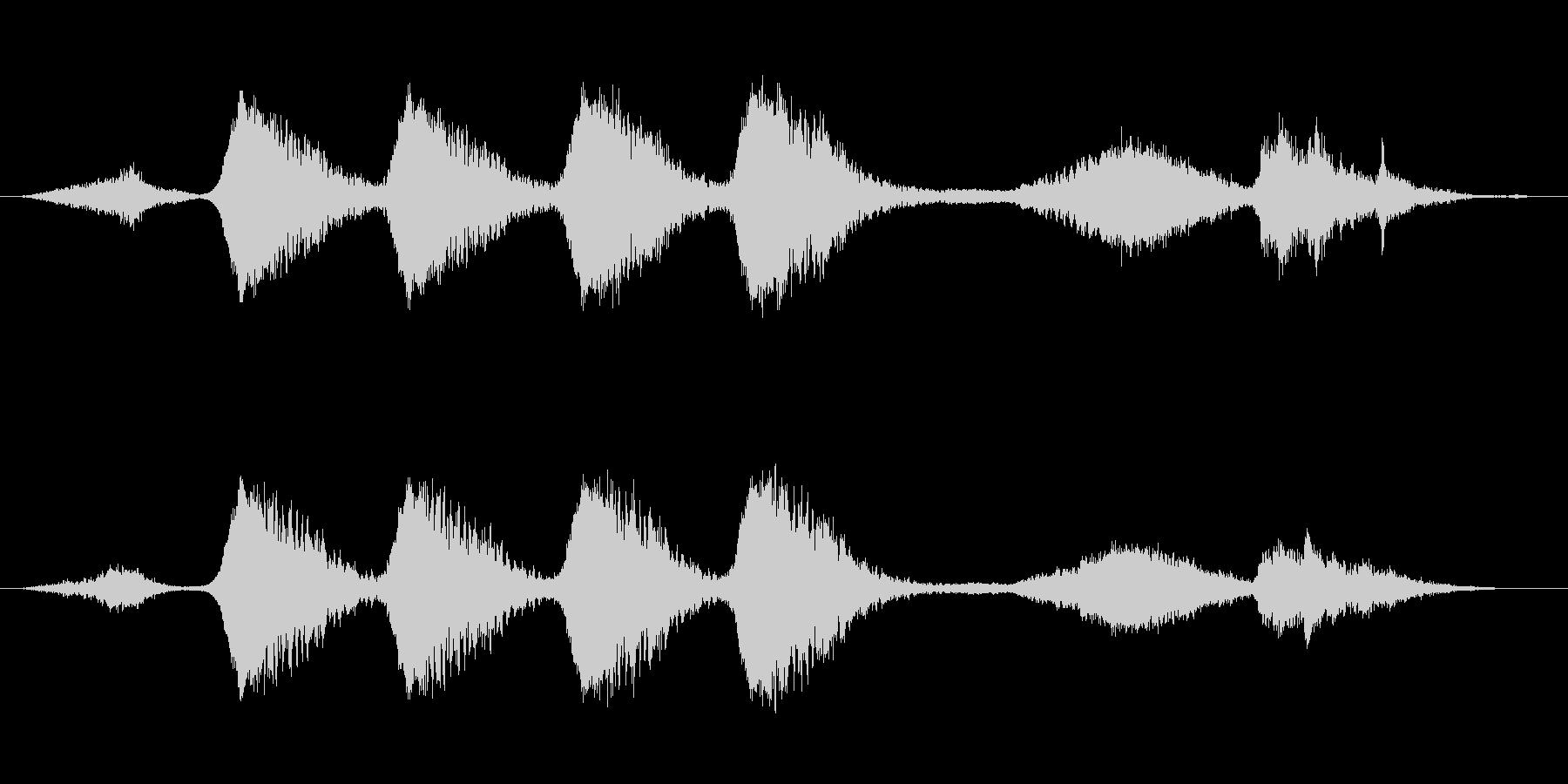 ミステリー、ホラー向き楽曲。つかみ所の…の未再生の波形