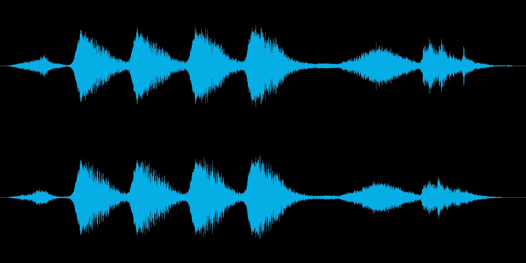 ミステリー、ホラー向き楽曲。つかみ所の…の再生済みの波形