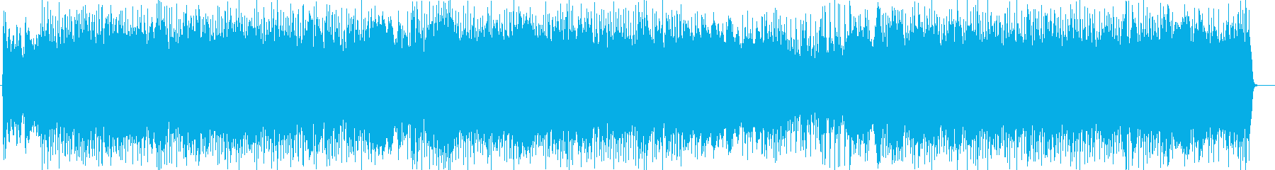 サーキットにいるようなシンセやギター曲の再生済みの波形