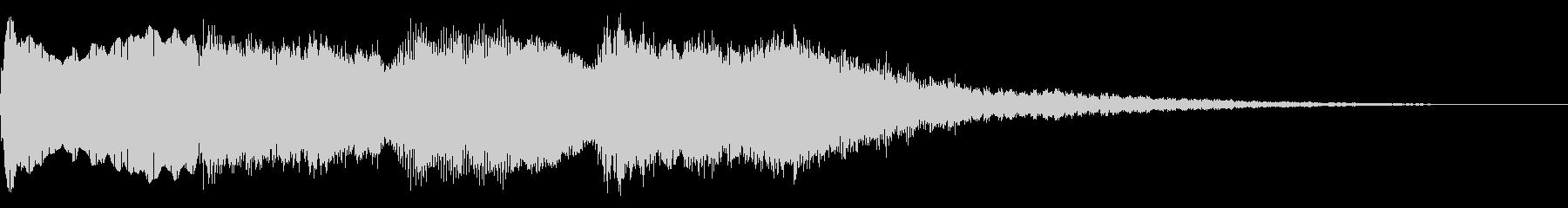 ミステリーな音 ゲームオーバー 奇怪な音の未再生の波形