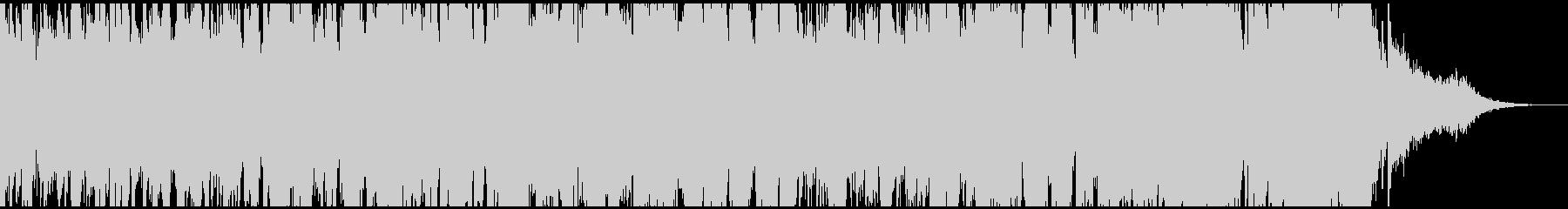 ハープ主体のアップテンポなオーケストラの未再生の波形